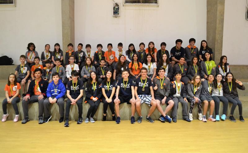 FourC tem 51 alunos medalhistas na Olimpíada Canguru de Matemática