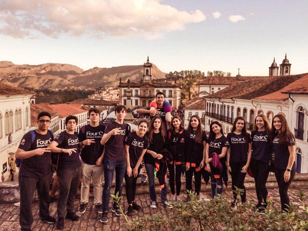 Estudo do Meio: Ensino Médio viaja para Minas Gerais
