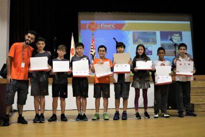 NASA e Tynker premiam alunos da FourC