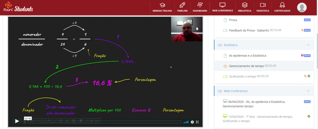 A Matemática aplicada no gerenciamento de tempo