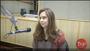 Entrevista Sara Hughes – TOP FM Bauru