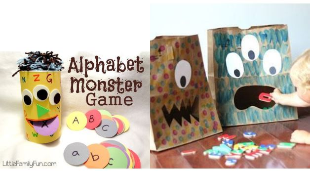 O Mr. Monster e o alfabeto: o aprender brincando!