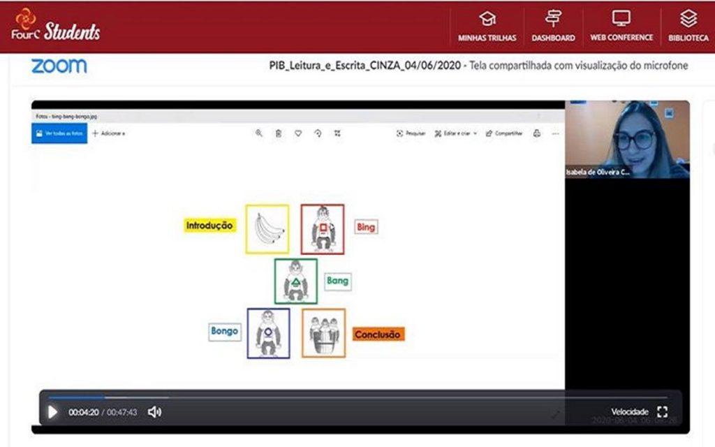 Práticas no ambiente online apoiam processo de leitura e escrita