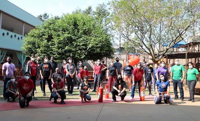 Brigada de Incêndio realiza treinamento anual